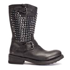 buy boots in uk buy trash biker boots from ash footwear in black leather today
