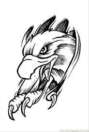 eagles tattoo design prev 4 coloring page free eagle coloring