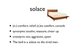 Synonyms Comfort Vocab 6 Slides Copy