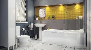 yellow and grey bathroom ideas grey and yellow bathroom home design gallery www abusinessplan us