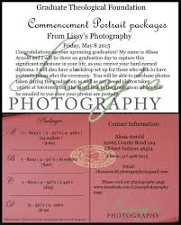graduation packages gtf graduation photo packages order now graduate theological