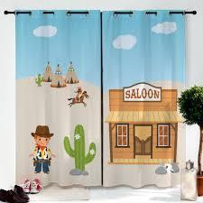 rideau pour chambre d enfant paire de rideaux enfant far couleur enfants été et