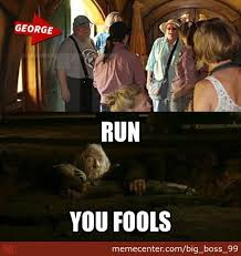 George Rr Martin Meme - gandalf s reaction when he found out that george r r martin was in