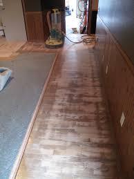 Laminate Flooring On Uneven Floor Water Damaged Hardwood Floor Is Restored In Lynden Wa Hoffmann