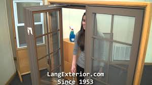 how to operate and clean a lang casement window youtube