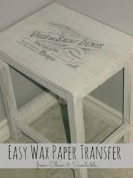 printable wax paper easy wax paper transfer clean and scentsible