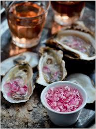 mignonette cuisine shucking oysters sauce mignonette letsheatit