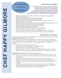 Chef Resume Objective 100 Chef Resume Templates Resume Executive Chef Resume