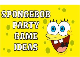 spongebob party ideas diy spongebob party ideas