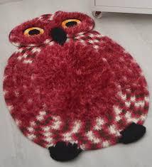 How To Make Handmade Rugs Crochet Owl Rug Make Handmade Crochet Craft