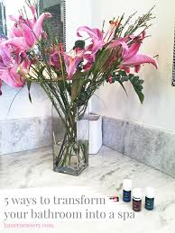 How To Decorate Your Bathroom Like A Spa - transform your bathroom bathroom ideas tamera mowry