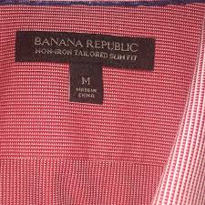 68 off banana republic other br non iron slim fit dress shirt
