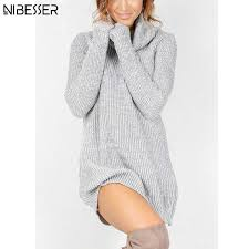 pullover sweater mini sweater dress pullover knitted sweater dress with