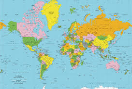 Map Of Countries World Maps Of All Countries Cities And Regions The Within A Map