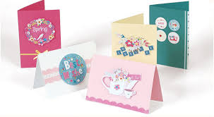 handmade paper card craft making supplies idea for birthday gift