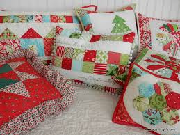 Decorative Christmas Pillows by Quilted Christmas Pillows A Quilting Life A Quilt Blog