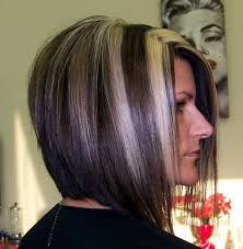 hairstyles back view only stacked bob hairstyles back view stacked bob haircut w chunky
