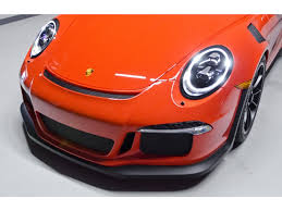 orange porsche 911 gt3 rs 2016 porsche 911 gt3 rs for sale in nashville tn stock v187209c
