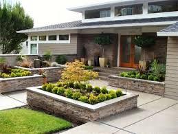 architecture minimalist design front yard garden ideas designs