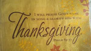 Thanksgiving Christian Song Rccg U2013 The House Of Prayer An Effective Thanksgiving