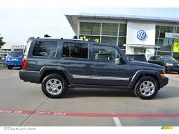 2007 steel blue metallic jeep commander limited 71434840 photo 6
