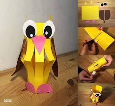Paper Craft Designs For Kids - easy paper craft ideas for kids with diy tutorials recycled things