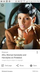 29 best short african american hair cuts images on pinterest