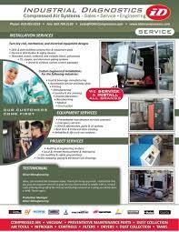 industrial diagnostics service chicago pneumatic dv almig