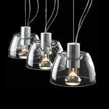 Halogen Pendant Lights Modern 3 Clear Glass Halogen Pendant Lighting 7696 Browse