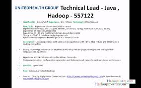 Resume Format Pdf For Mca by Chic Idea Hadoop Developer Resume 16 Project Trainee Resume