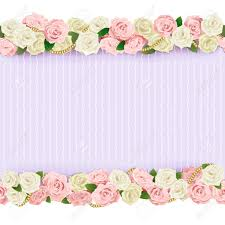 wedding flowers background vector wedding flower frame isolated on white background royalty