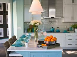 interior coastal style kitchen design or beach themed kitchen