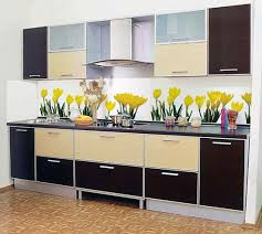Modern Kitchen Backsplashes  Gorgeous Kitchen Backsplash Ideas - Glass panels for kitchen cabinets