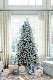 blue christmas decorating ideas a tour of our home