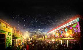 melbourne celebrates christmas in july