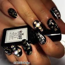 68 best rhinestone crystal nails images on pinterest make up