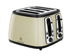 Morphy Richards Toaster Cream Russell Hobbs Heritage 4 Slice Toaster 18369 Cream Amazon Co Uk