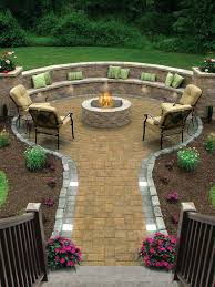 Cheap Firepit Pit Landscaping Ideas Easy Backyard Pit Designs More