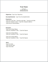 no experience resume example efficiencyexperts us