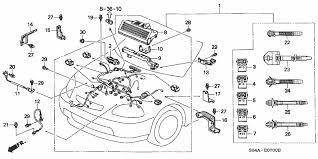 1999 honda civic window motor engine wire harness honda oem parts 1999 honda civic for 4dr ex