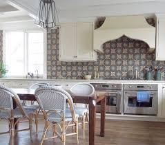Moroccan Tile Backsplash Eclectic Kitchen 12 Best Moroccan Kitchen Tile Images On Pinterest Gold All