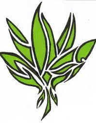 symbol tribal pot leaf design jpg 790 1012