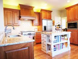 modern wood kitchen kitchen kitchen with solid wood cabinets and laminate flooring