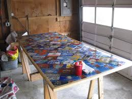 Homemade Bar Top Epoxy Bar Top Ideas Fabulous Create A Penny Table Top With Epoxy