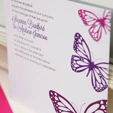 wedding invitations butterfly theme butterfly wedding invitation