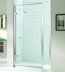 Shower Hinged Door Merlyn 8 Series 1000mm Hinge Door And 150mm Inline Panel M81231p1h