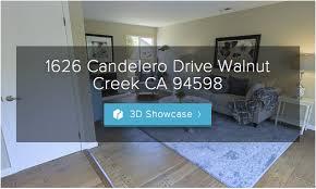 3d virtual tour 1626 candelero drive walnut creek ca 94598
