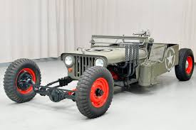 custom willys jeepster rat rod jeep by streetrodding com