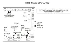 brushless generatoravr sx440 avr mx341 voltage regulator buy