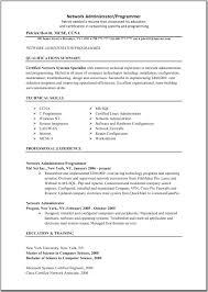 Good Programmer Resume It Administrator Resume Resume For Your Job Application
